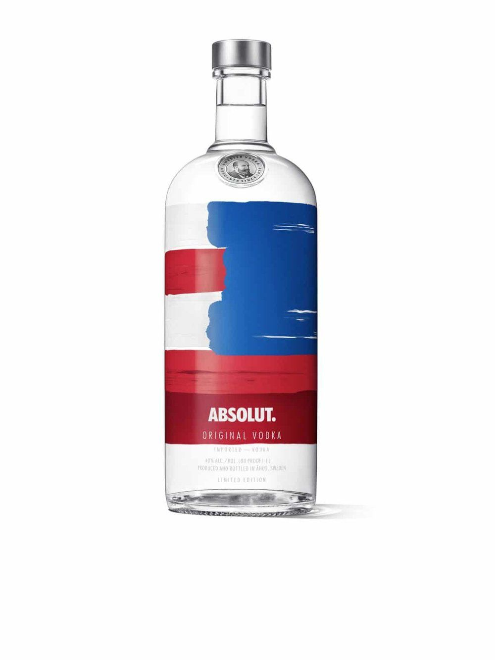 Make American Beautiful Again With Absolut America Bottle Design Bottle Bottle Images