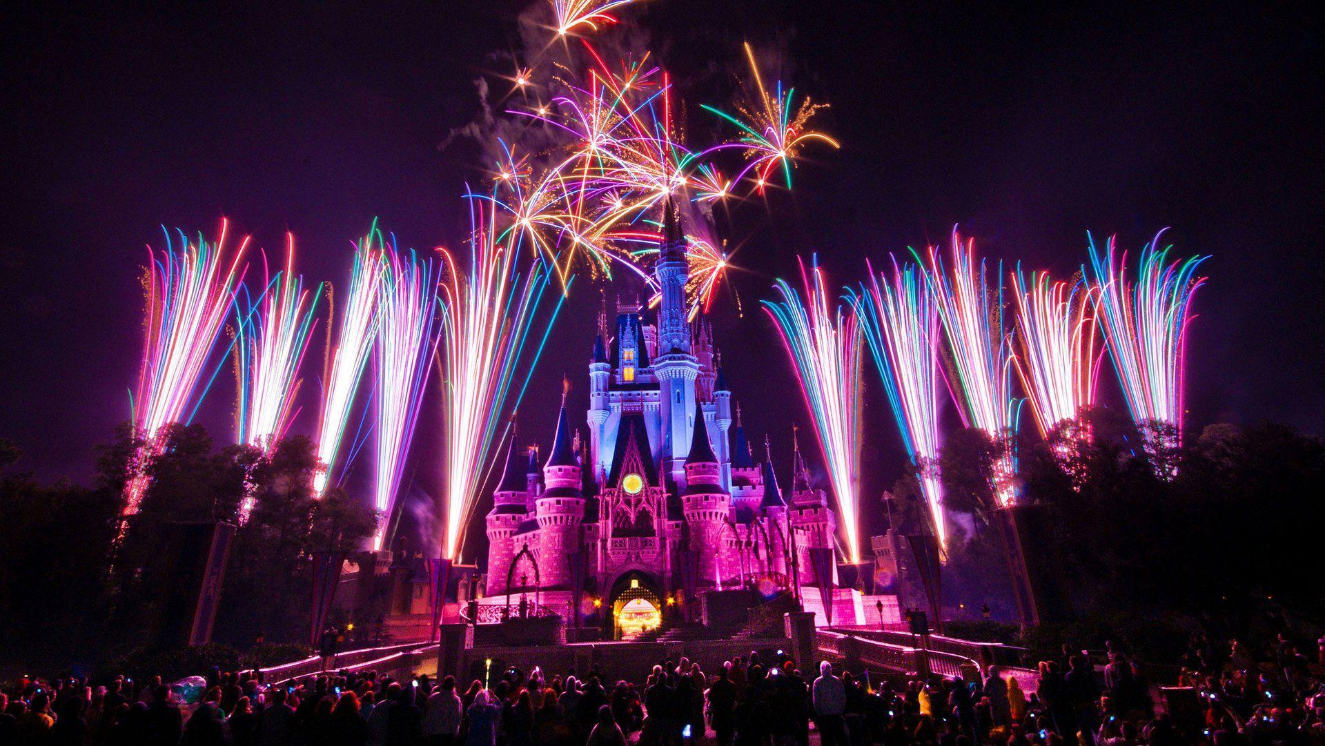 Disney Land Fireworks Photo Hd Wallpaper Fireworks Photo Fireworks Wallpaper Hd Wallpaper