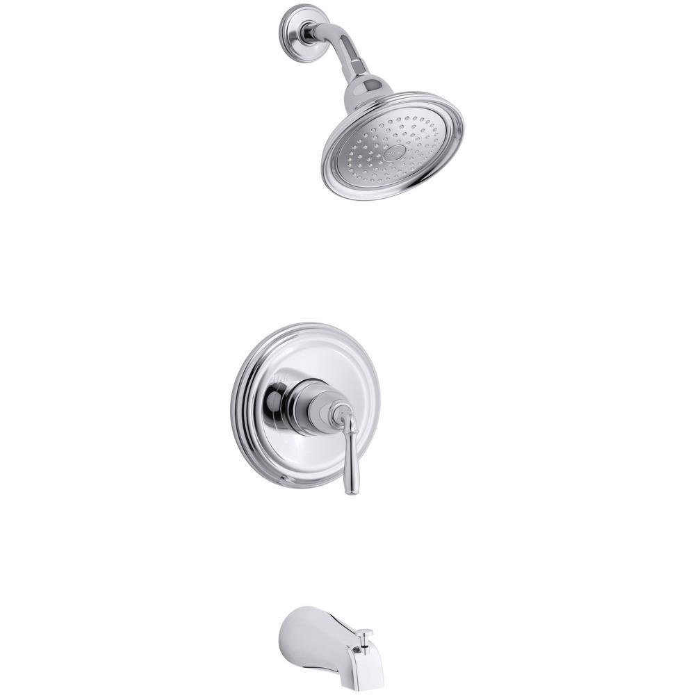 Kohler Devonshire 1 Handle Rite Temp Tub And Shower Faucet Trim