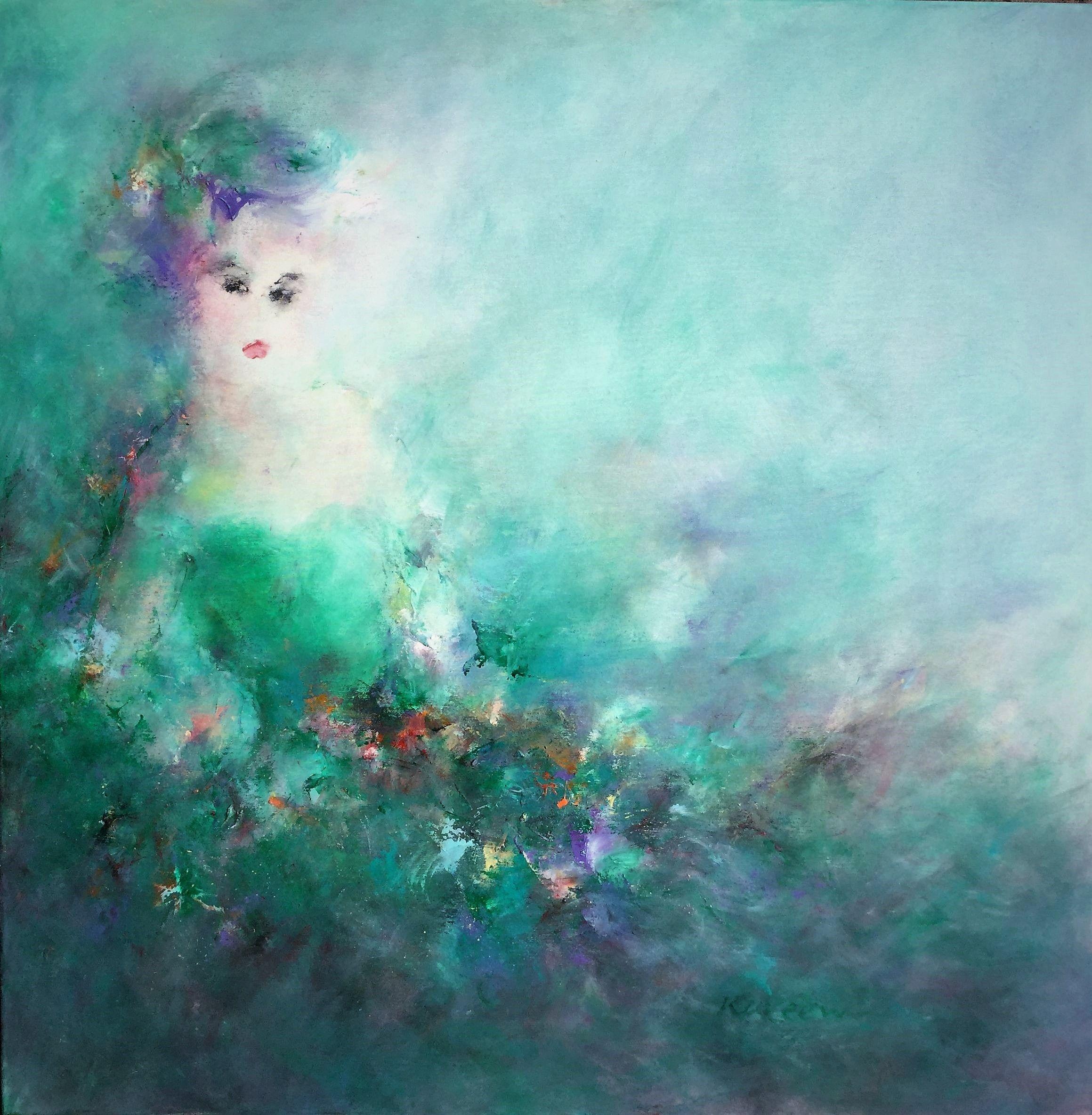100x100 cm Acrylic  on canvas