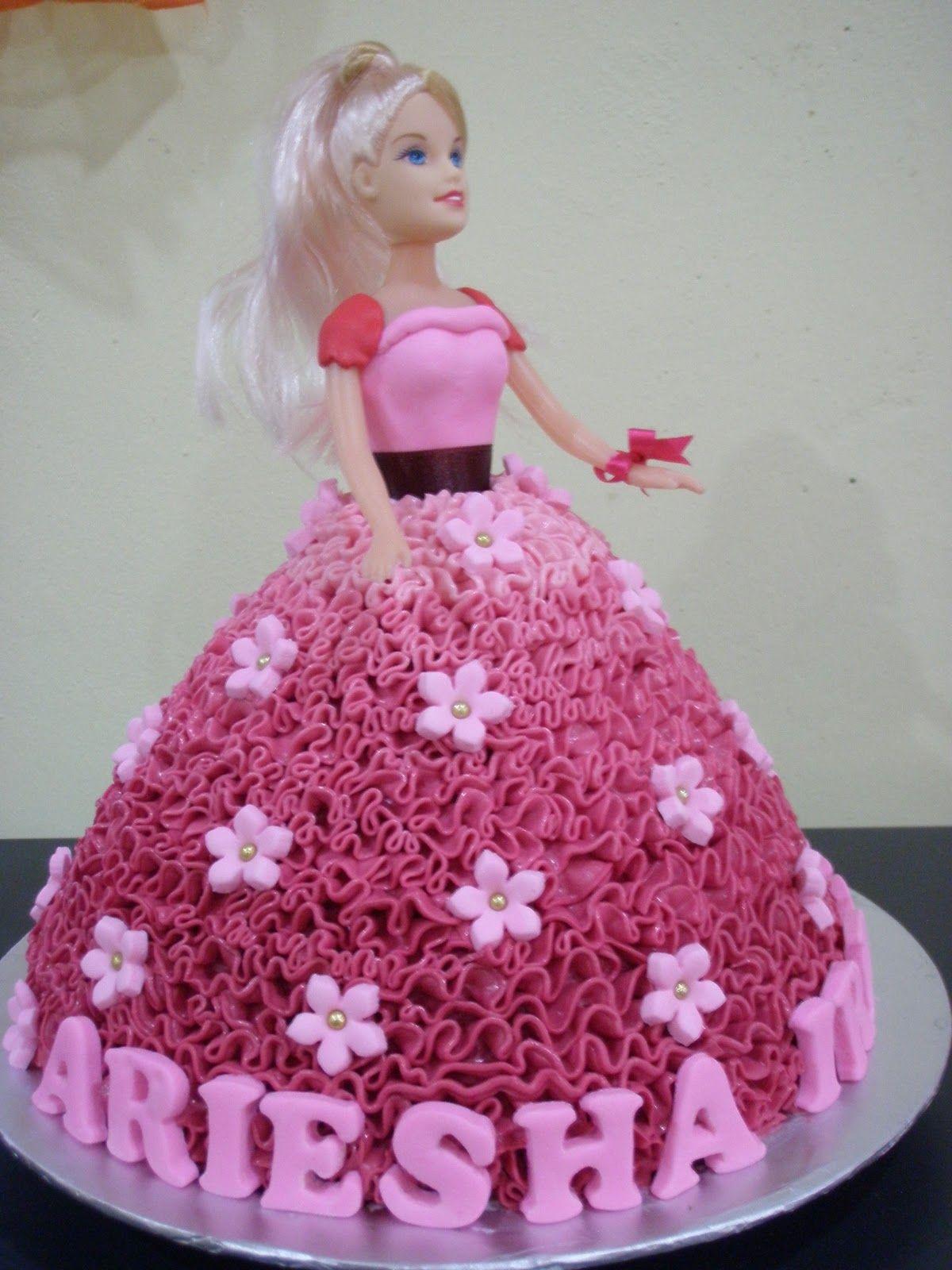 Barbie Princess Cake Design : barbie doll cake My Home Bakery :: Barbie Doll Cakes ...