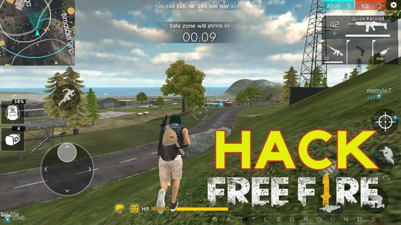 Garena Free Fire Hack Android And Ios Get Unlimited Free Diamonds