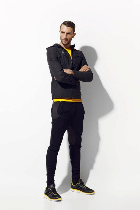 Zara Active Wear Fitness Fashion Active Wear Mens