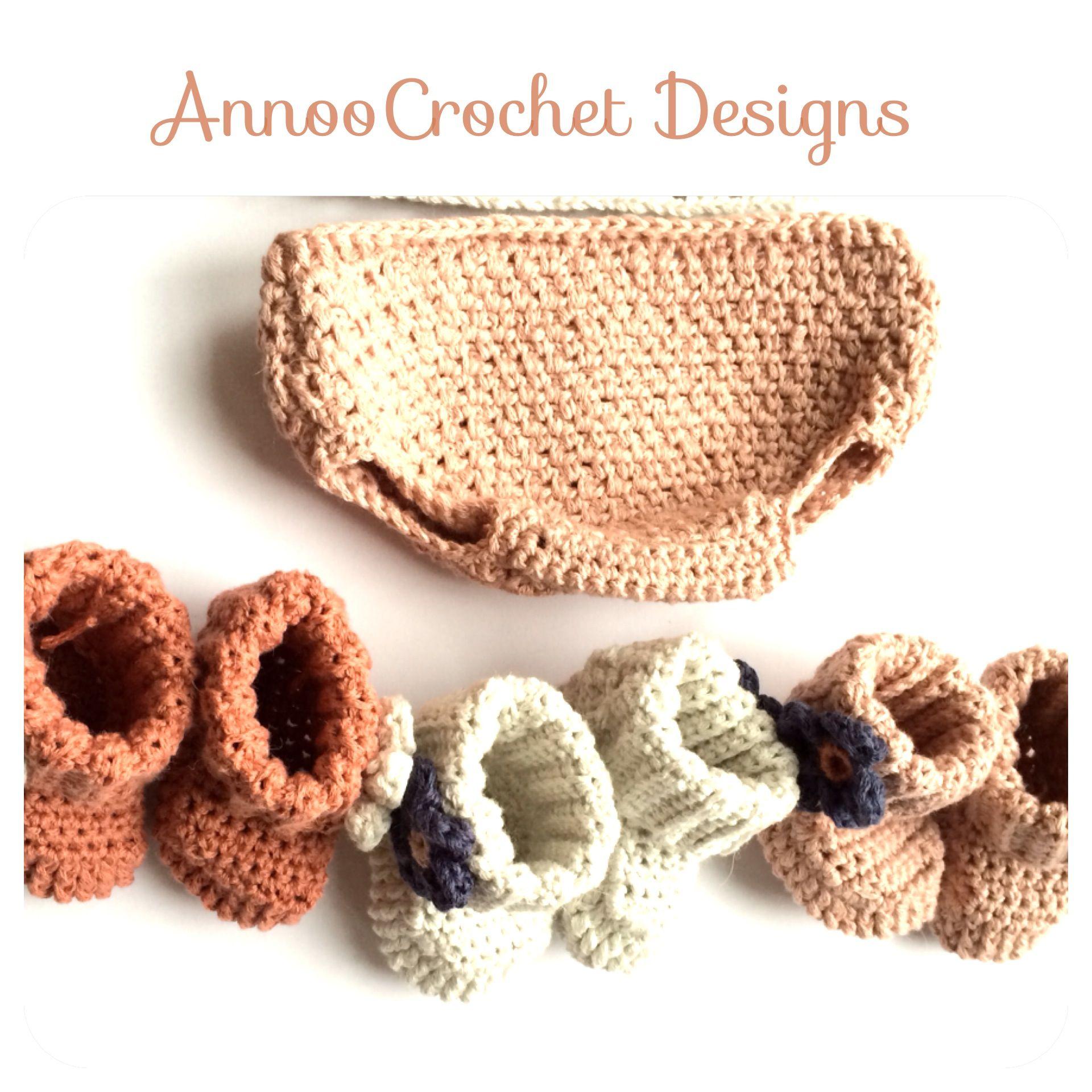 Free tutorial By AnnooCrochet Designs