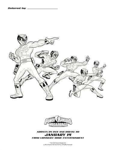 Power Rangers Megaforce Printable Coloring Page Sweeps4bloggers Power Rangers Megaforce Superhero Coloring Pages Power Rangers Coloring Pages