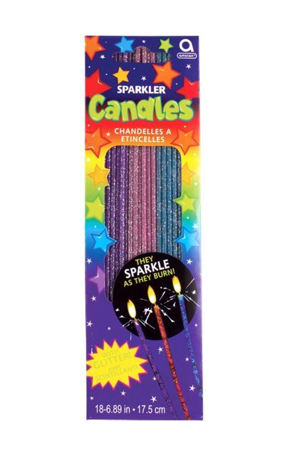 Glitter Sparkler Candles Party City