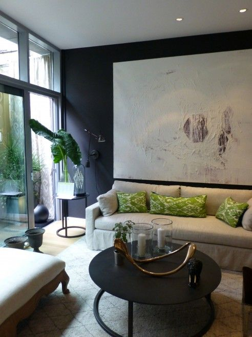 Amy Vermillion Interiors Blog Elle Decor Modern Life Concept House Living Family Rooms