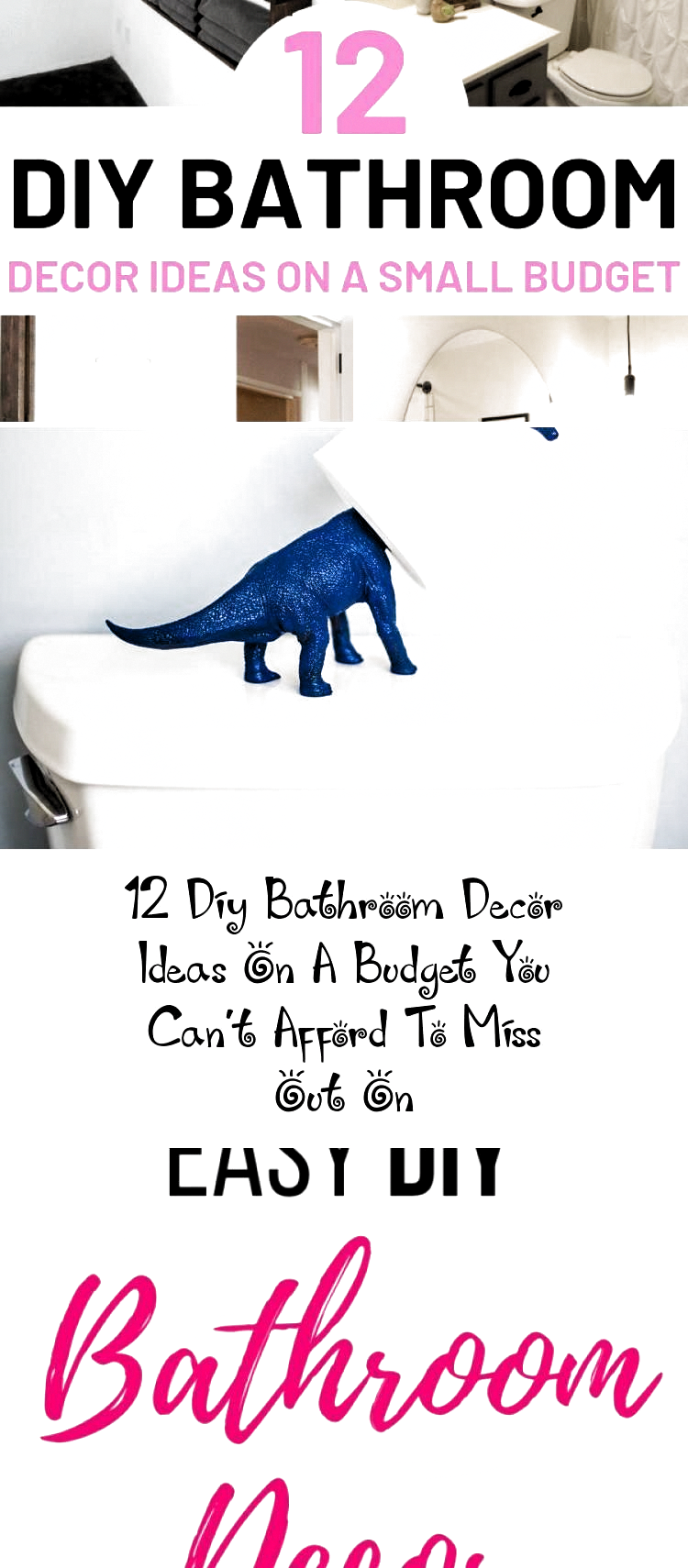 Photo of 12 Diy Bathroom Decor Ideas On A Budget You Can't Afford To Miss Out On – Home…