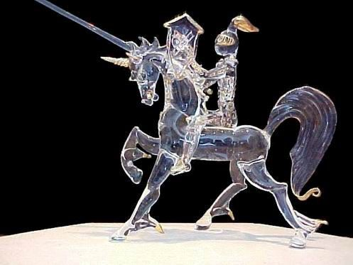 Knight On Horse N Gl Wedding Cake Top Or Figurine Unicorn Topperunicorn