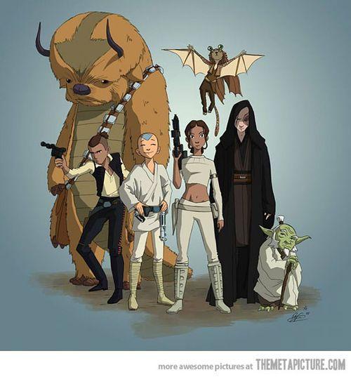 Avatar Star Wars art