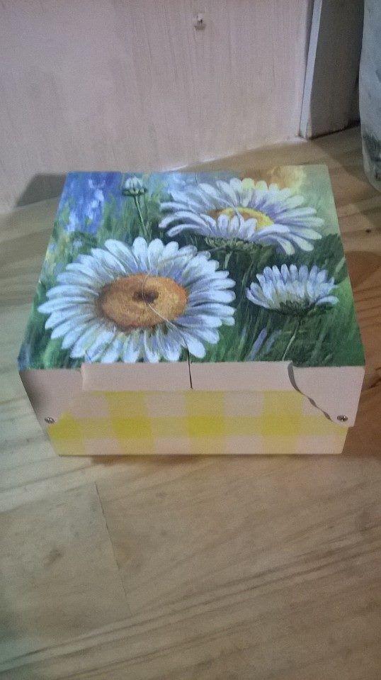 caja para sobres de te