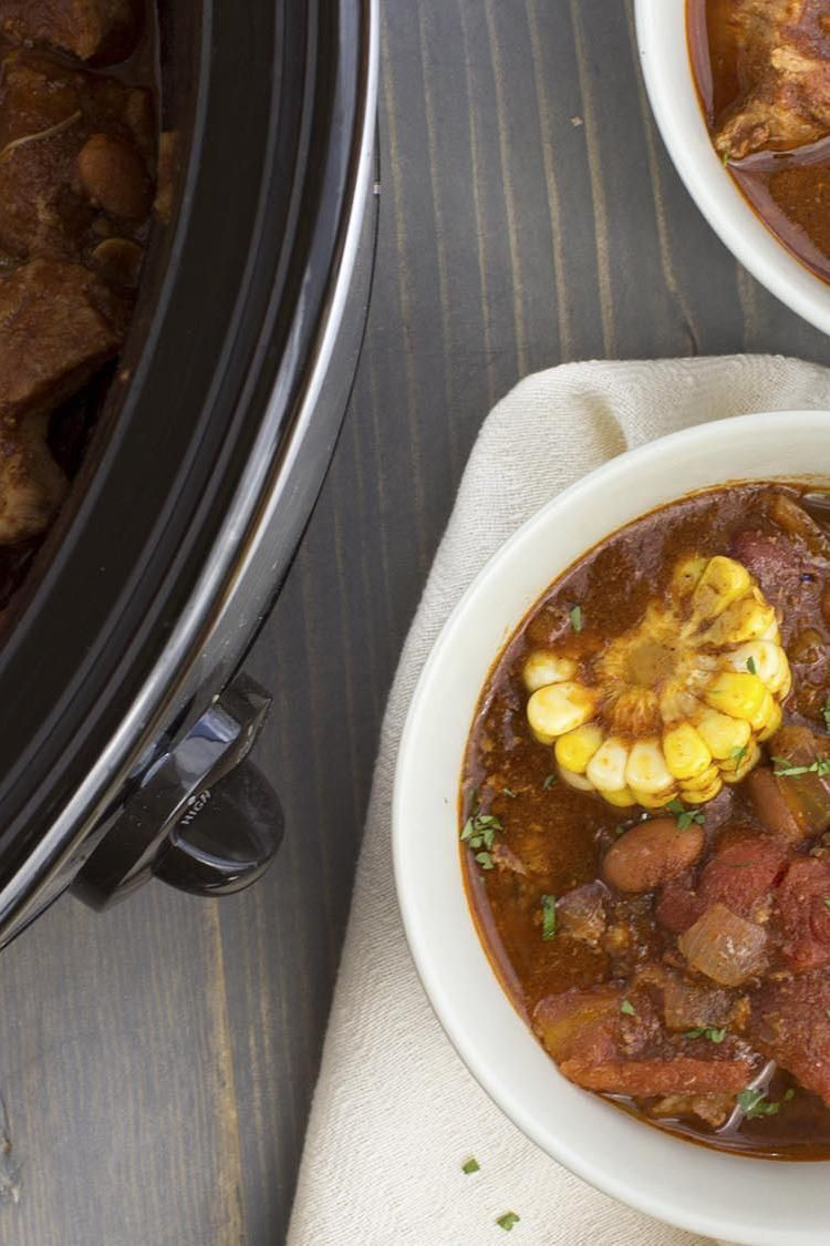 Slow Cooker Spicy Mexican Pork Stew Recipe Pork Stew Slow Cooker Slow Cooker Chili