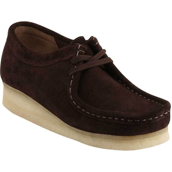 3700f9d2 Clarks Wallabee Shoe ($140) ❤ liked on Polyvore featuring ...