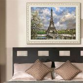 Europe Architecture DIY Oil Painting Paint By Number Kits For Adults Kids Beginners Drawing With Brushes On Linen Canvas HF -#adults #architecture #beginners #brushes #canvas #diy #drawing #europe #kids #kits #linen #number #oil #paint #painting