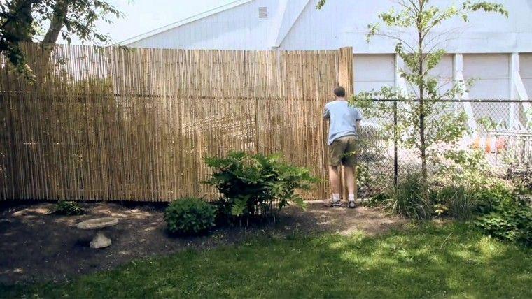 Bambou Cloture Pas Cher Diy Garden Loves And Ideas