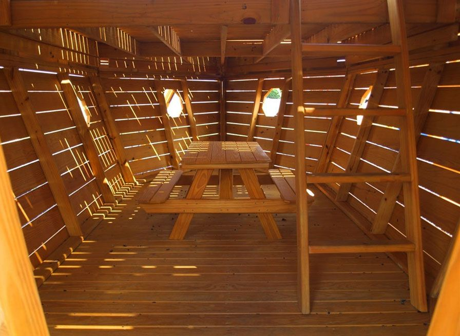 This Is The View Inside Hull Of A Large Wooden Pirate Ship Playhouse Description