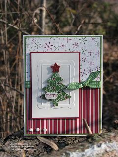 """Eileen's """"Stampin' Fever"""" Blog: LNS Challenge - Favorite Christmas Colors"""
