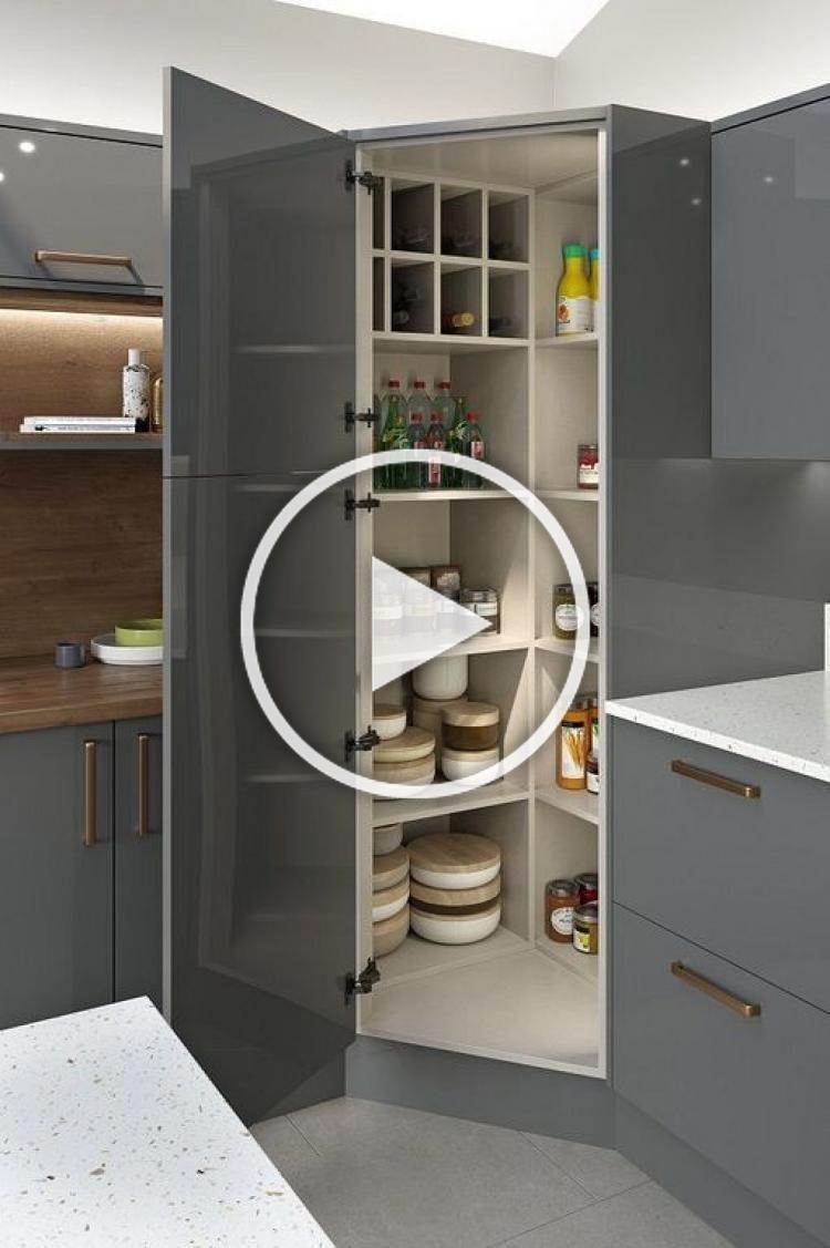 Armadio Dispensa Grande E Multifunzionale Aggiungi Lusso Alla Tua Cucina In 2020 Decor Western Kitchen Decor Interior Design Kitchen