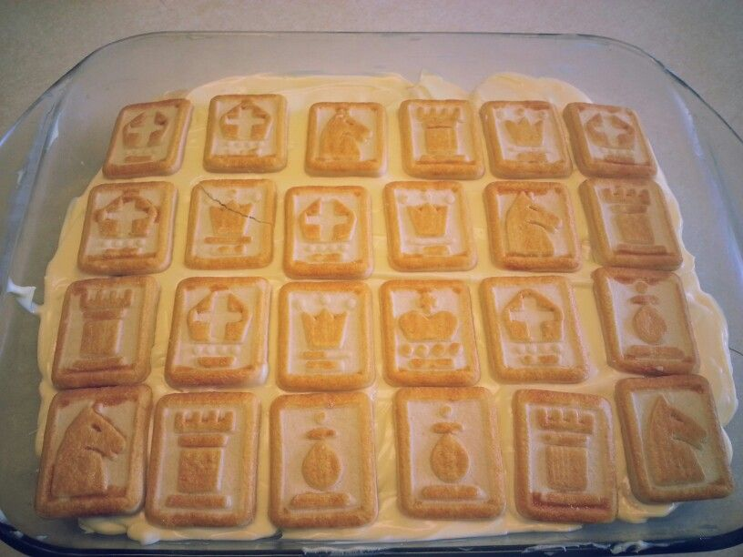 Chessman Cookie Banana Pudding ! | Desserts I Made | Pinterest