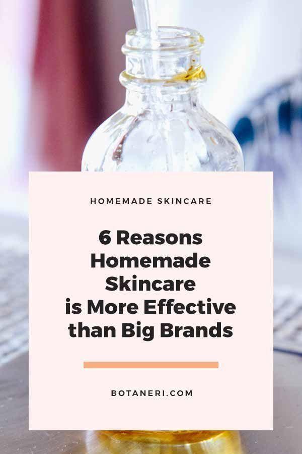 6 Gründe, warum hausgemachte Hautpflege wirksamer ist als große Marken -  #als #GROßE #grunde... #homemadeskincare