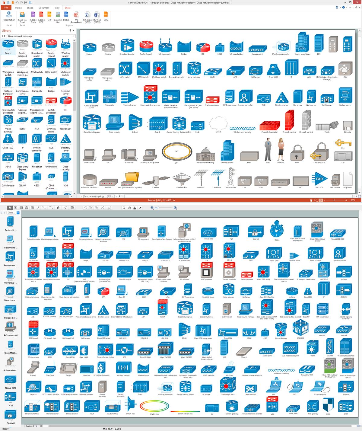 21 Auto Visio Network Diagram Stencils References Visio Network