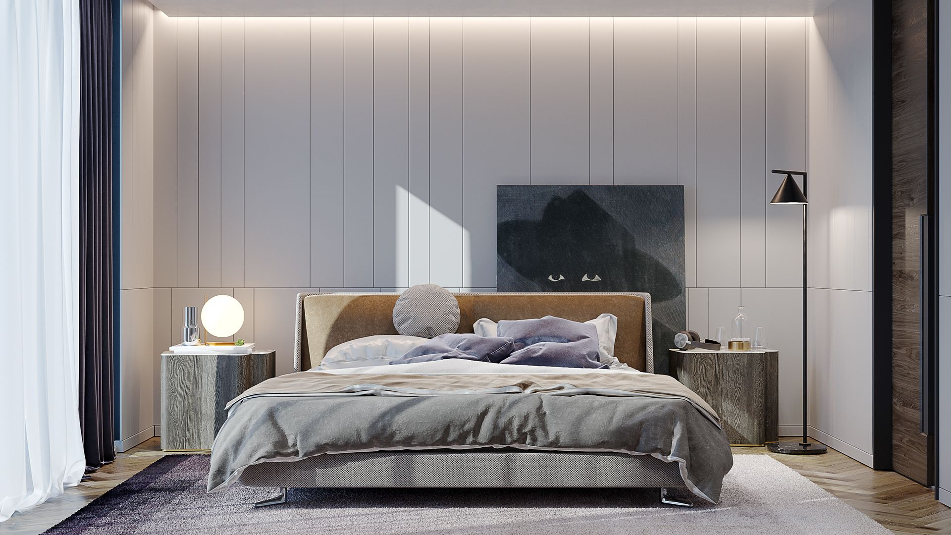 Pin By Lorenwong On 1 Contemporary Bedroom Design Luxurious