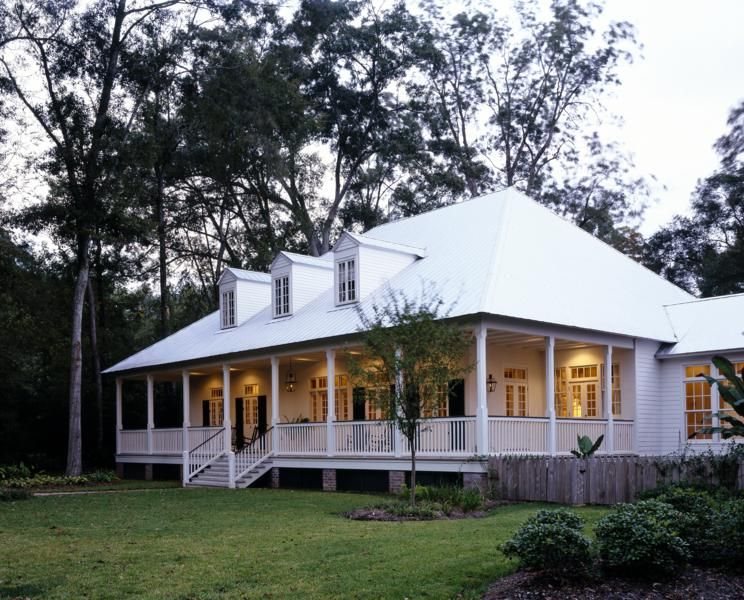 New construction of bayou cottage designed by kevin harris for Bayou cottage house plan