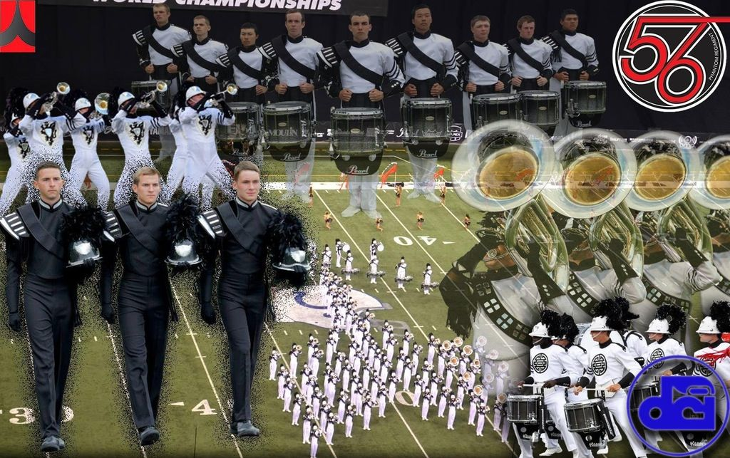 Phantom Regiment collage. | Drum corps international, Band ...