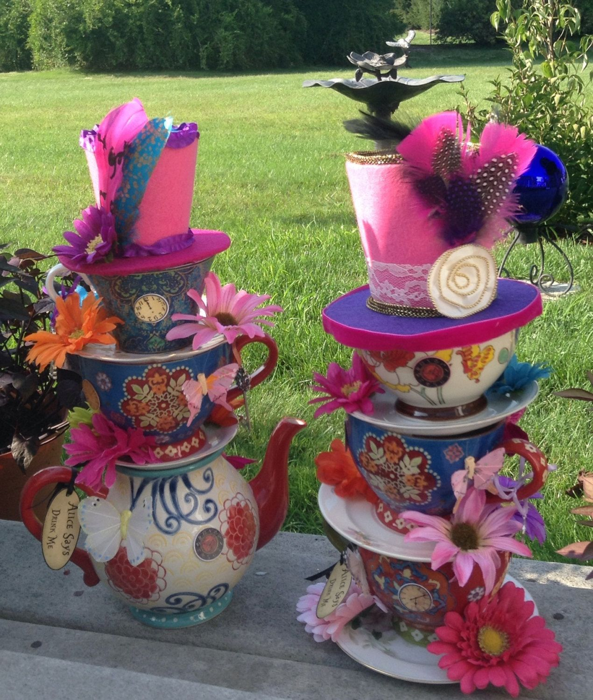 alice in wonderland teapot centerpiece Google