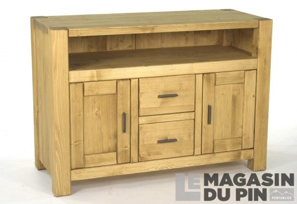 Bahut Style Louis Philippe 19eme Relooke Bois Et Noir Mobilier De Salon Relooking De Mobilier Renover Meuble Bois