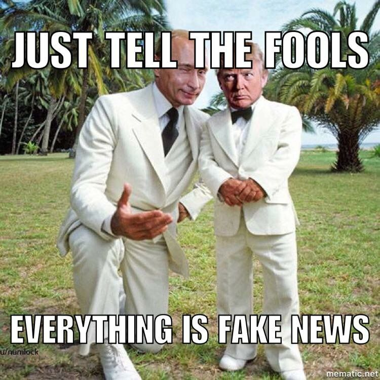 504cdbd0b1be166a37b725029abcff47 fake news anti trump meme featuring trump and putin anti trump