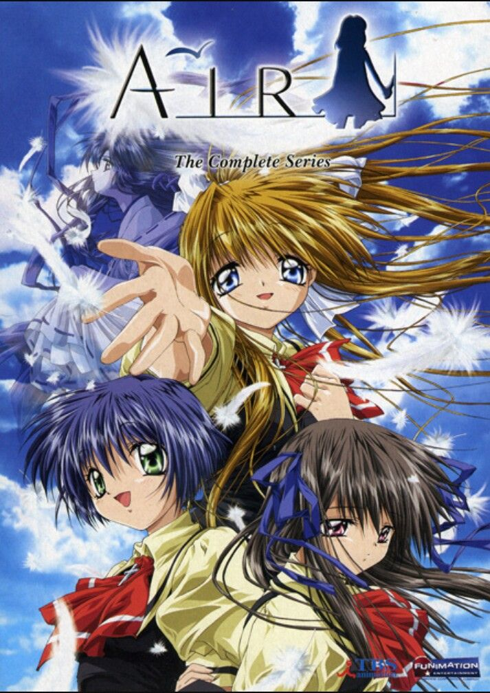 Pin by Joicefify on Air Anime, Anime dvd, Animation studio