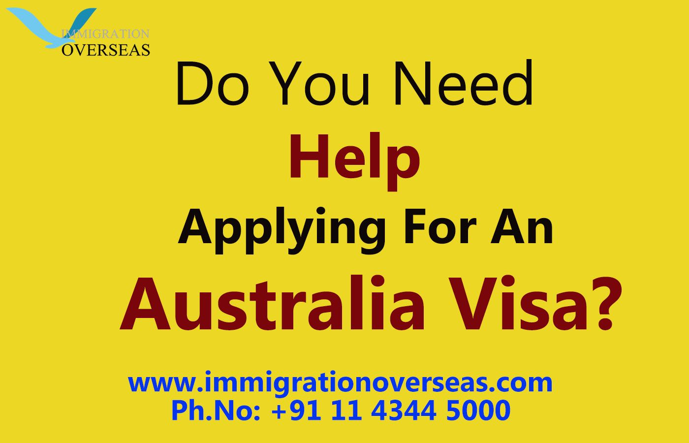 Avail Australia visa from the renowned immigration