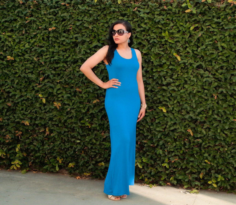 Plus size maxi dress maxi dress scoop neck tank sleeveless dress