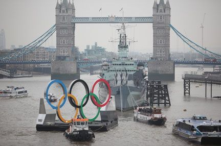 100 days before the Olympic Games in my home town (London). Exciting times