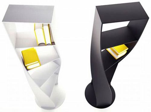 Twisted Shelf   5 of the Coolest Shelves We've Ever Seen