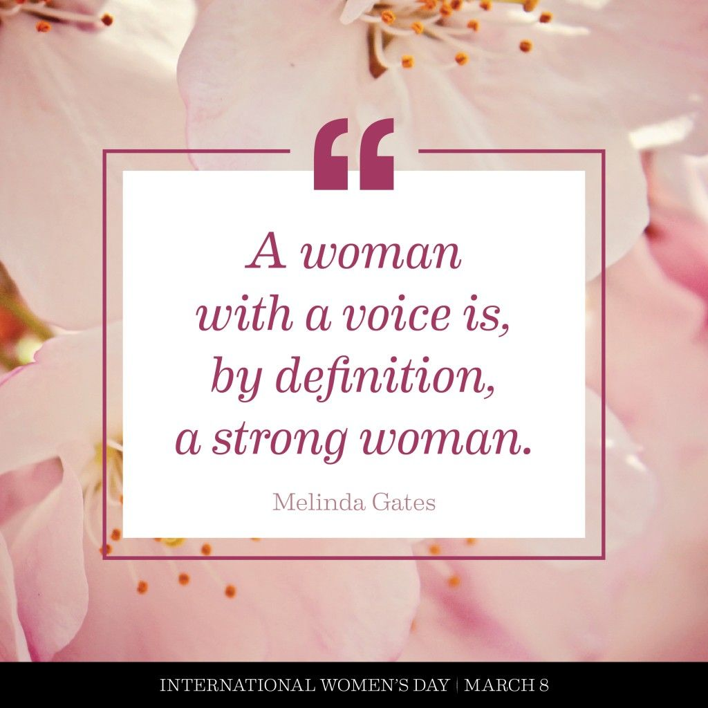 Women's Day Quotes Melinda Gates  Typography Design  Pinterest  Gates Chic Type And .