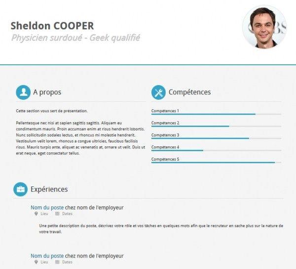 Cv Template Bootstrap Cv Resume Template Simple Resume In 2020 Resume Templates Best Free Resume Templates Cv Resume Template