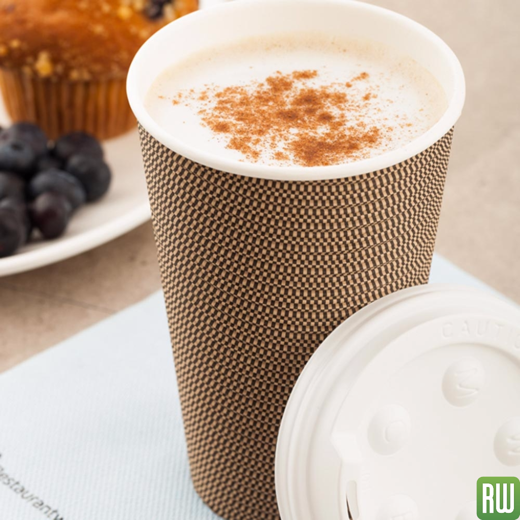 Coffee cup holder tea shop bar supplies paper towels