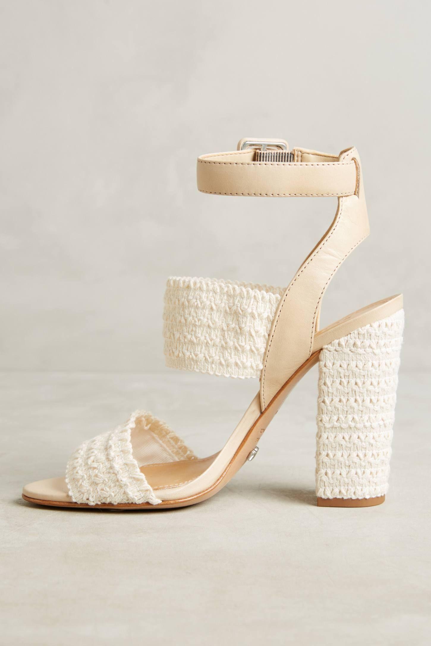 Schutz Glendy Heeled Sandals