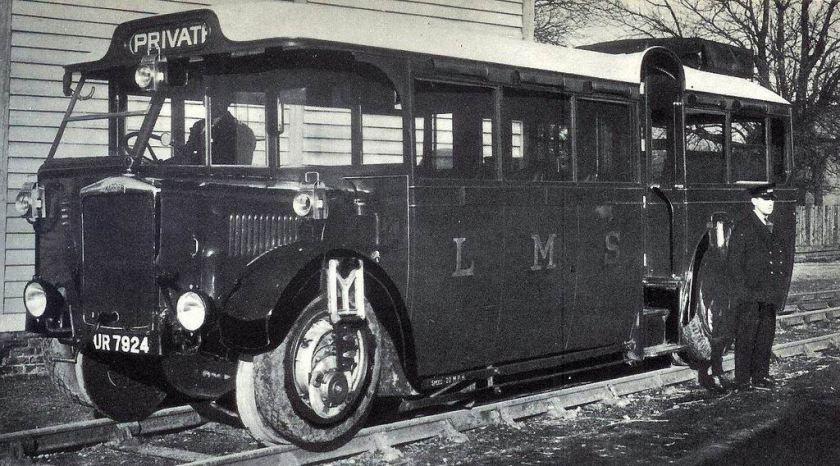 1932 LMS Karrier Railbus Yorkshire uk, Antique cars