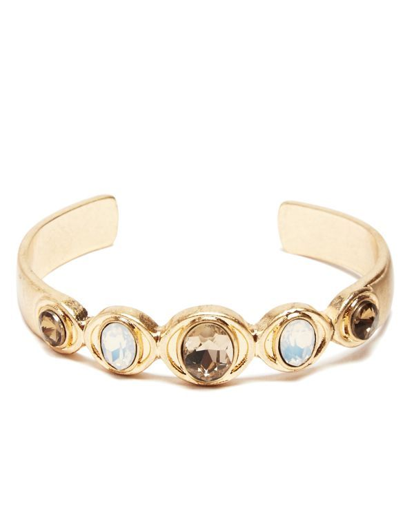 Catherine Catherine Malandrino Stone Cuff Bracelet - Compare at $42