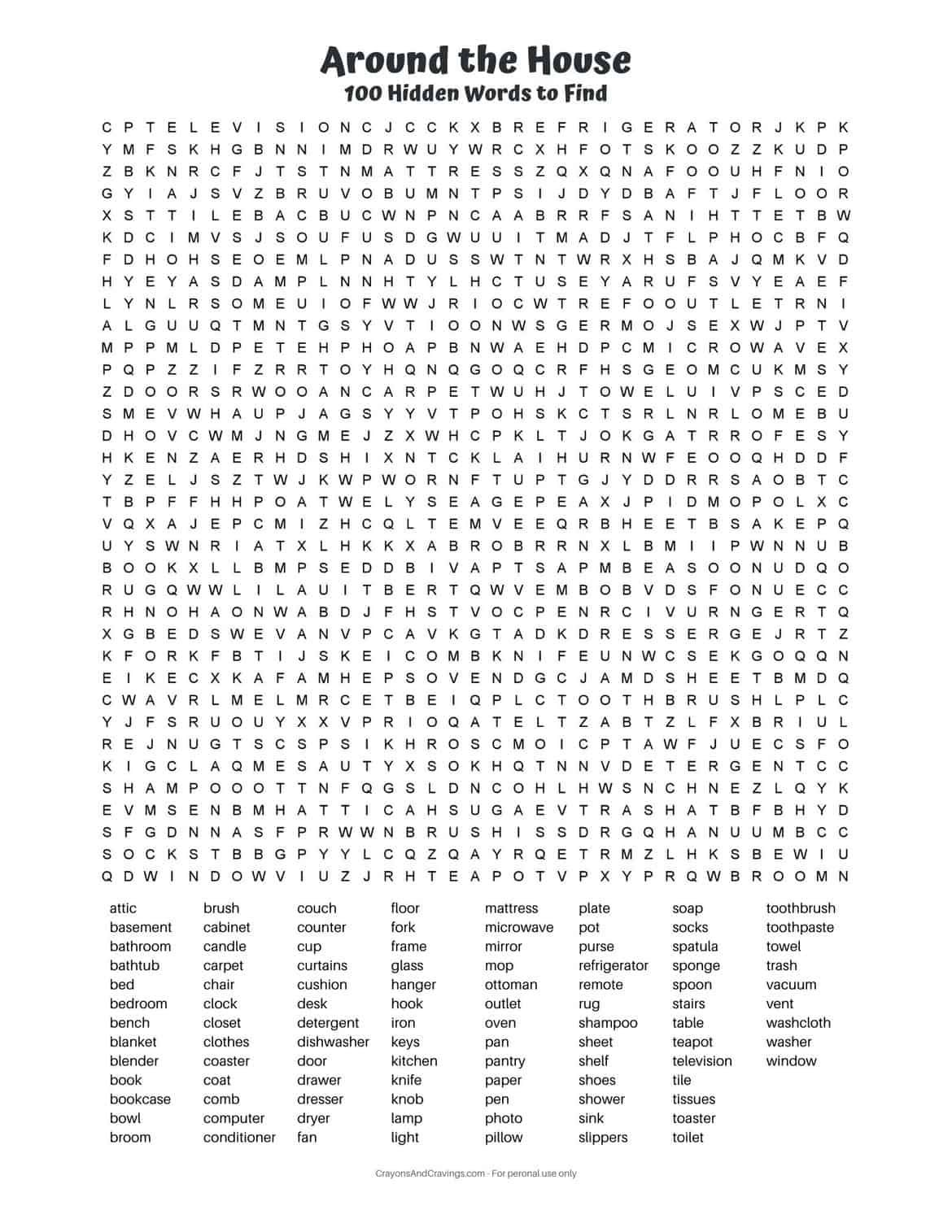 This 100 Word Word Search Is The Epitome Of A Hard