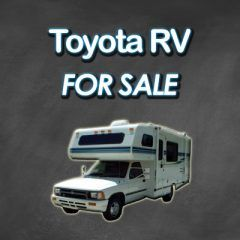 classic class c motorhome for sale by owner toyota mini rv chinook dolphin sunrader. Black Bedroom Furniture Sets. Home Design Ideas