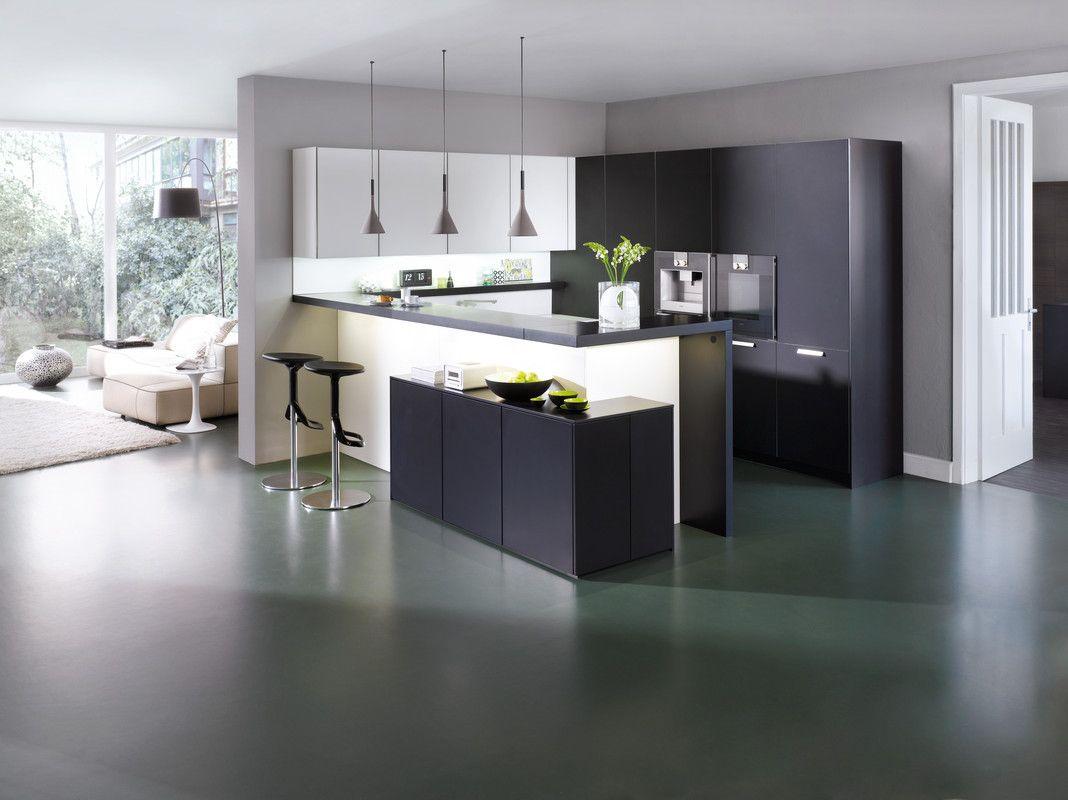 Modern island kitchen design using granite kitchen photo 388980 - Classic Fs Ios M Lacquer Modern Style Kitchen Kitchen