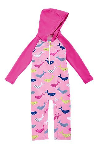 36b6912be Baby Hooded One Piece Swimsuit: Sun Protective Clothing - Coolibar ...