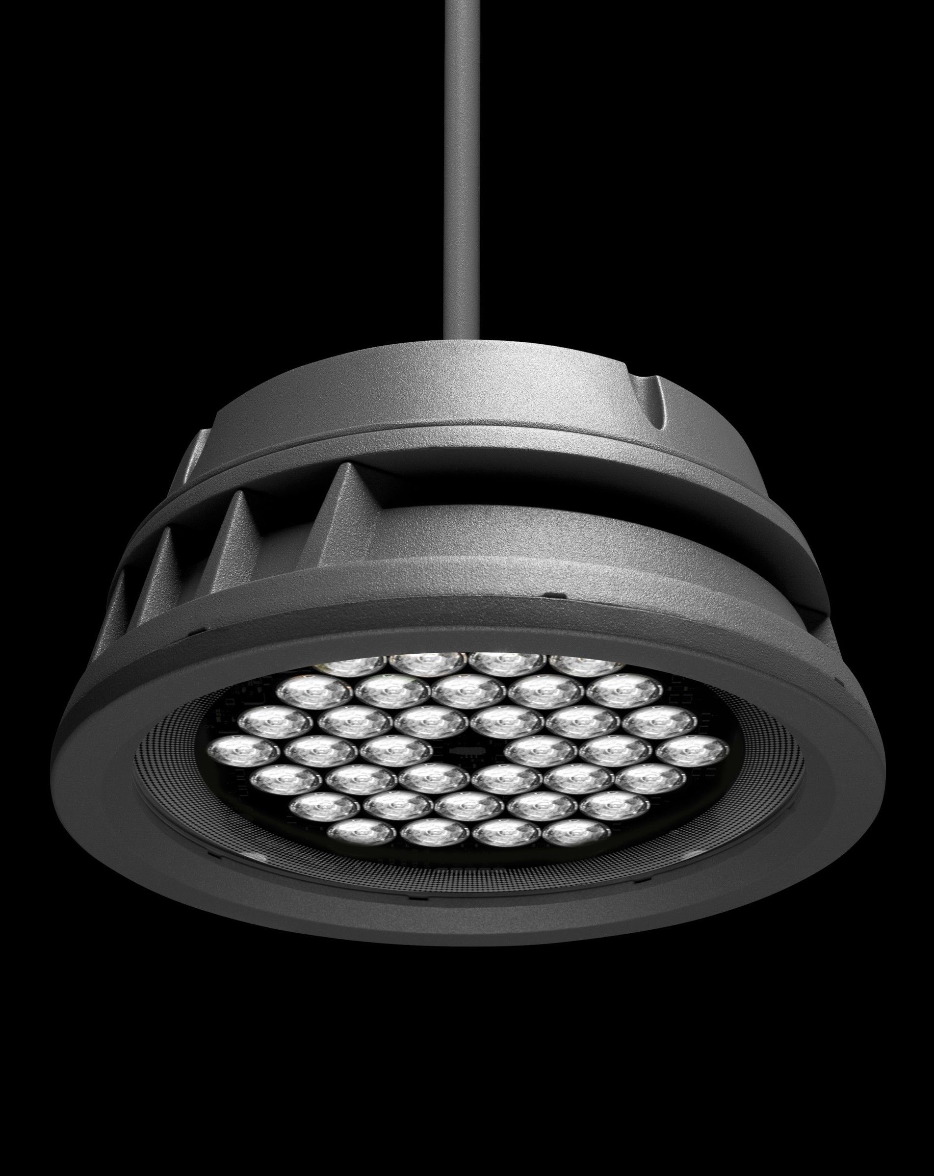 Lumenbeam Large Pendant Ip66 Rated Suspended Luminaire For