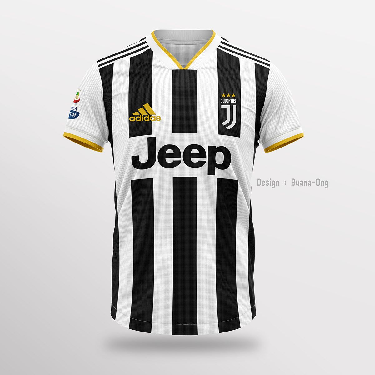 42b28f9cc3b Juventus FC Concept Home Jersey 2019-2020 on Behance
