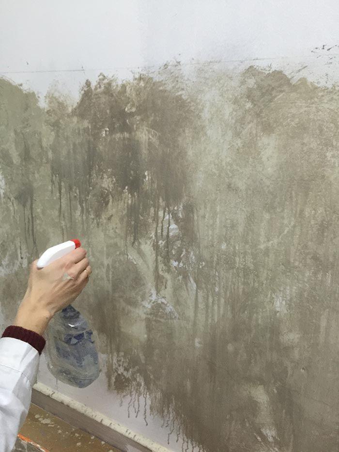 Pintar paredes con efectos desgastados o vintage disperse for Pintar paredes con efectos
