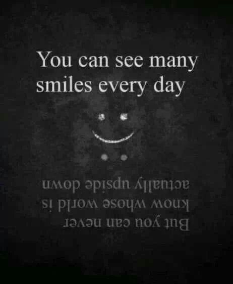 Upside Down Picture Quotes: You Can Never Know Whose World Is Upside Down